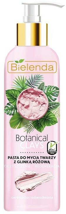 Pasta viso all'argilla rosa - Bielenda Botanical Clays Vegan Face Wash Paste Pink Clay