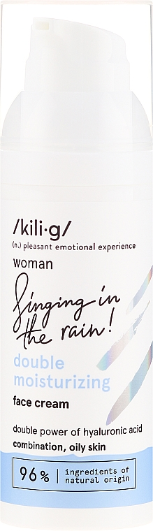 Crema viso idratante - Kili·g Woman Double Moisturizing Cream — foto N2