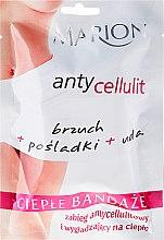 Profumi e cosmetici Bendaggii caldi sul corpo - Marion Anti-Cellulite Hot Bandages
