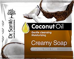 Profumi e cosmetici Sapone crema per il viso con olio di cocco - Dr.Sante Cream Soap