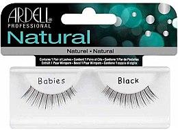 Profumi e cosmetici Ciglia finte - Ardell Natural Babies Black