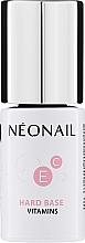 Profumi e cosmetici Base per smalto gel - NeoNail Professional Hard Base Vitamins
