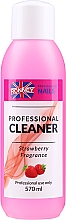 """Profumi e cosmetici Sgrassante unghie """"Fragola"""" - Ronney Professional Nail Cleaner Strawberry"""