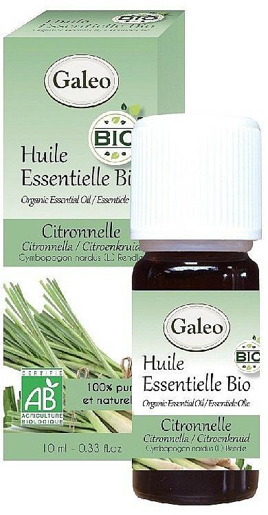 Olio essenziale di citronella - Galeo Organic Essential Oil Citronella — foto N1