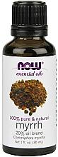 "Profumi e cosmetici Olio essenziale ""Miscela di olio di mirra"" - Now Foods Essential Oils Myrrh Oil Blend"
