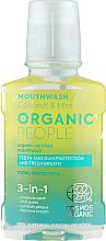 Profumi e cosmetici Collutorio 3 in 1 - Organic People Coconut And Mint