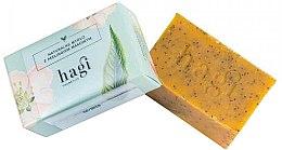 Profumi e cosmetici Sapone naturale con olio di olivello spinoso e papavero - Hagi Natural Soap