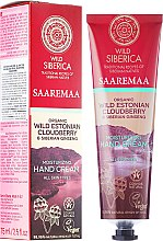 Profumi e cosmetici Crema idratante mani - Natura Siberica Wild Saaremaa Moisturizing Hand Cream