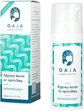 Profumi e cosmetici Crema viso rinfrescante con spirulina - Gaja