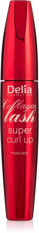 Mascara incurvante - Delia Collagen Lash Super Curl Up