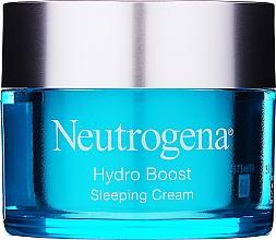 Profumi e cosmetici Crema viso idratante da notte - Neutrogena Hydro Boost Sleeping Cream
