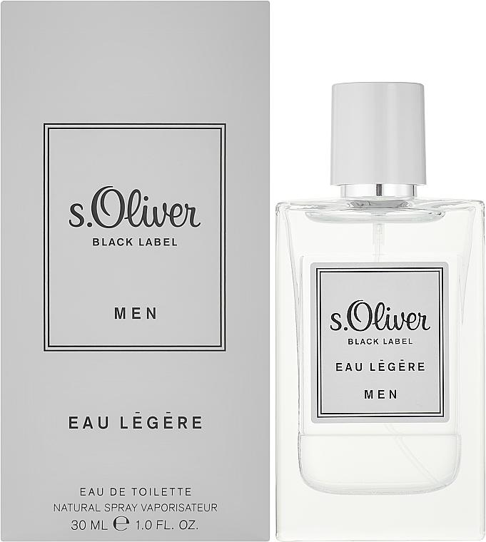 S. Oliver Black Label Eau Legere Men - Eau de toilette — foto N2