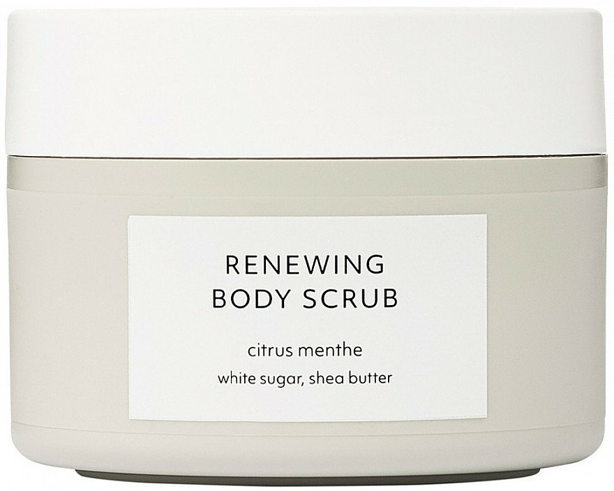 Scrub corpo rigenerante - Estelle & Thild Citrus Menthe Renewing Body Scrub — foto N1