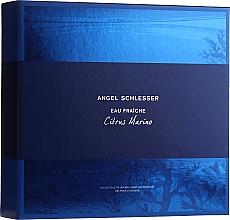Profumi e cosmetici Angel Schlesser Eau Fraiche Citrus Marino - Set (edt/100ml+sh/gel/150ml)