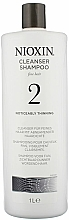 Profumi e cosmetici Shampoo detergente - Nioxin Thinning Hair System 2 Cleanser Shampoo