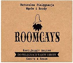 Profumi e cosmetici Balsamo per baffi e barba, con burro di karitè - Roomcays