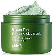 Profumi e cosmetici Maschera viso, con argilla e tè verde - Skin79 Green Tea Purifying Clay Mask