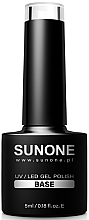 Profumi e cosmetici Base per smalto - Sanone Gel Polish Base