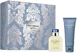 Profumi e cosmetici Dolce & Gabbana Light Blue Pour Homme - Set (edt/75ml + ash/balm/75ml)