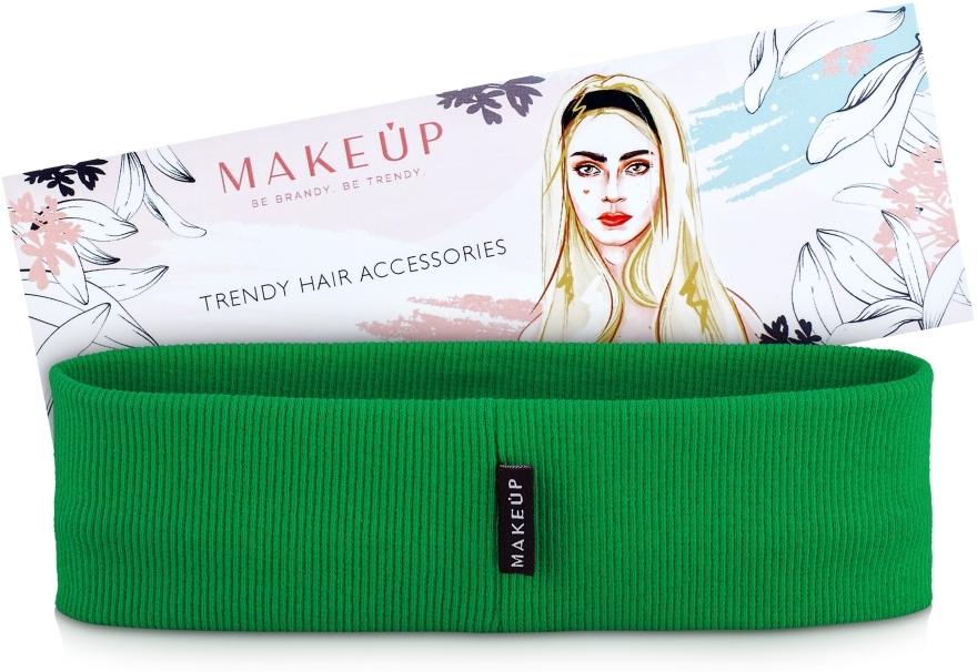 """Fascia per capelli, verde """"Be Beauty"""" - MakeUp"""