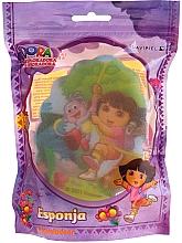 """Profumi e cosmetici Spugna per bambini """"Dora"""", 169-14, gialla - Suavipiel Dora Bath Sponge"""