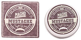 Profumi e cosmetici Cera per i baffi - Macho Beard Company Soft Natural Mustache Wax