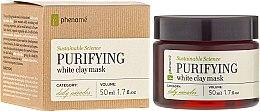 Profumi e cosmetici Maschera di argilla bianca - Phenome Sustainable Science Purifying White Clay Mask
