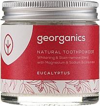 Profumi e cosmetici Dentifricio naturale - Georganics Eucalyptus Natural Toothpowder
