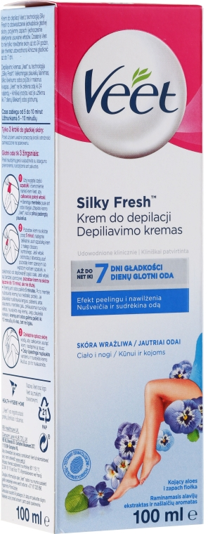 Crema depilatoria per pelli sensibili - Veet
