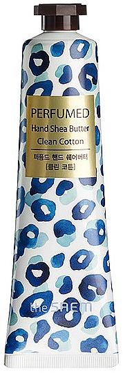 "Crema mani nutriente ""Cotone"" - The Saem Perfumed Clean Cotton Hand Shea Butter"