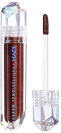 Topper labbra - NYX Professional Makeup Diamonds & Ice Please Lip Topper