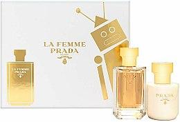 Profumi e cosmetici Prada La Femme Prada - Set (edp/50ml + b/lot/100ml)
