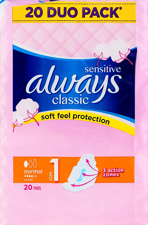 Assorbenti igienici 20pz - Always Classic Sensitive Normal