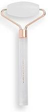 Profumi e cosmetici Roller viso, in quarzo, bianco - Revolution Skincare Clear Quartz Roller