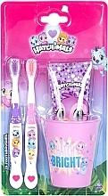 Profumi e cosmetici Set - Hatchimals (tpst/75ml + tbrsh/2pz + glass)