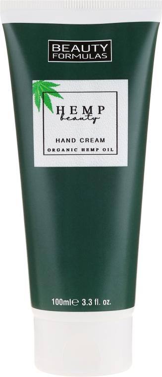 Crema mani con olio di canapa - Beauty Formulas Hemp Beauty Oil Hand Cream