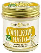 Profumi e cosmetici Burro alla vaniglia biologico - Purity Vision Bio
