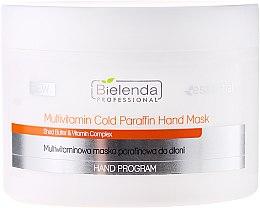 Profumi e cosmetici Maschera mani multivitaminica - Bielenda Professional Multivitamin Cold Paraffin Hand Mask