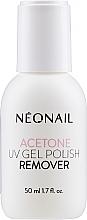 Profumi e cosmetici Solvente unghie - NeoNail Professional Acetone UV Gel Polish Remover