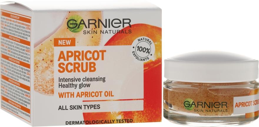 """Scrub viso """"Albicocca"""" - Garnier Skin Naturals Apricot Face Scrub"""