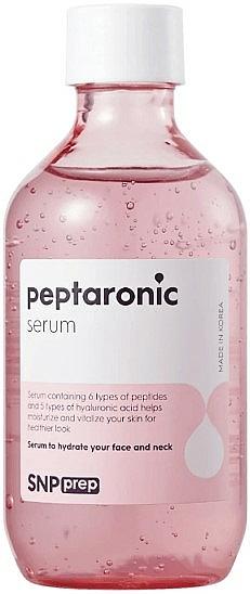 Siero viso idratante con peptidi - SNP Prep Peptaronic Serum — foto N1