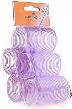 """Profumi e cosmetici Bigodini per capelli """"Velcro"""" diametro 41 mm, 5 pz, 0416 - Top Choice"""