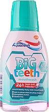 Profumi e cosmetici Collutorio - Aquafresh Big Teeth Mouthwash