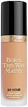 Profumi e cosmetici Fondotinta - Too Faced Born This Way Matte 24-Hour Foundation