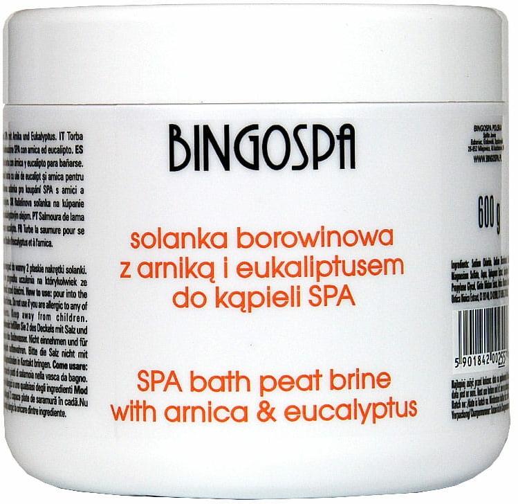 Sale da bagno, con estratto di arnica ed eucalipto - BingoSpa Brine Mud With Arnica And Eucalyptus