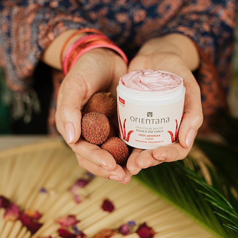"""Olio per corpo """"Rosa giapponese e litchi"""" - Orientana Rose Body Butter — foto N2"""