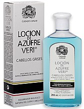 Profumi e cosmetici Lozione anticaduta dei capelli - Intea Azufre Veri Balance Lotion for Grey Hair