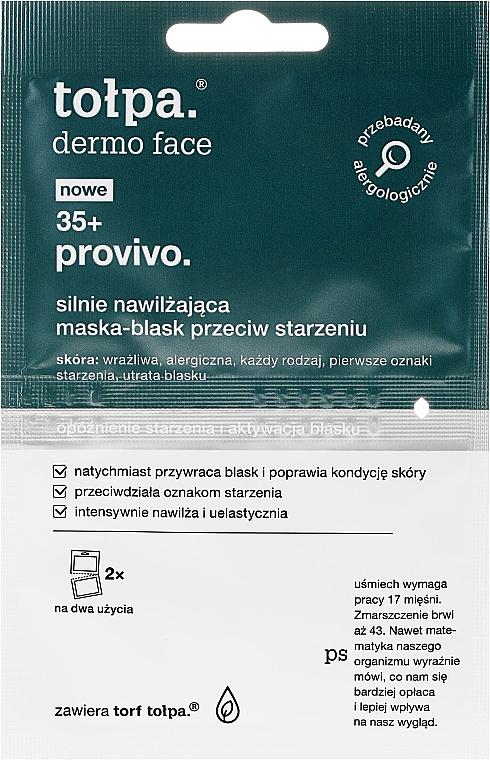 Maschera viso - Tolpa Dermo Face Provivo 35+ Mask — foto N1