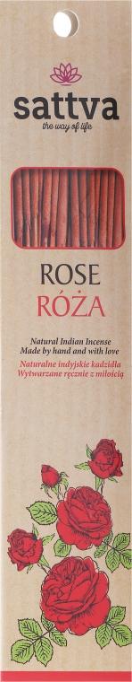 """Bastoncini di incenso """"Rose"""" - Sattva Rose — foto N1"""