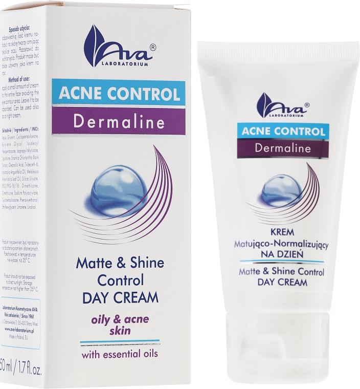 Crema viso opacizzante da giorno - Ava Laboratorium Acne Control Matt & Shine Day Cream